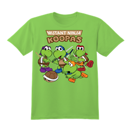 Teenage Mutant Ninja Koopas